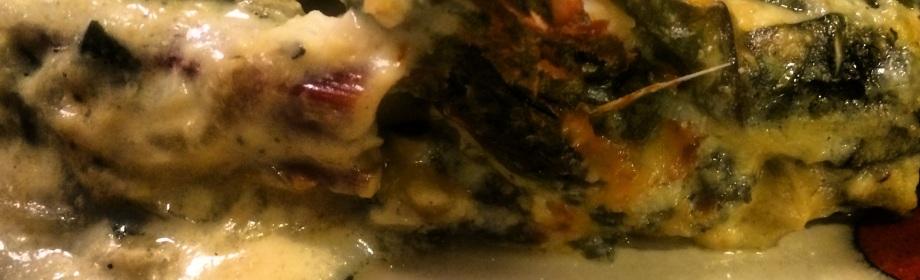 Swiss Chard and Sweet OnionGratin