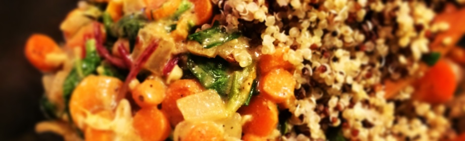 Warm Quinoa Carrot Salad